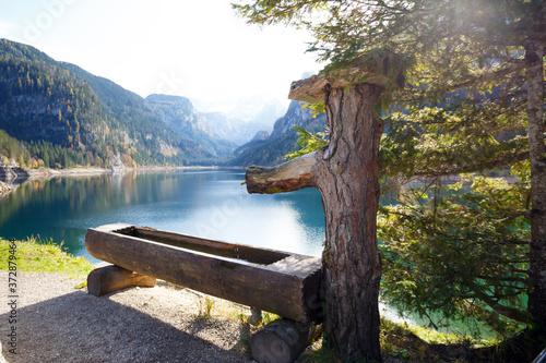 beautiful mountain lake Fototapete