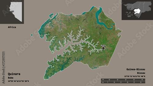 Photo Quinara, region of Guinea-Bissau,. Previews. Satellite