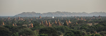 Panoramic View Of Pagodas In B...
