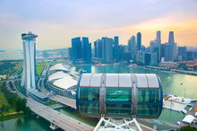 Singapore View From Flyer