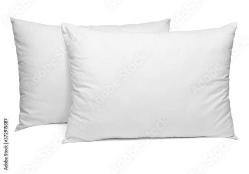 Obraz na plátně white pillow bedding sleep