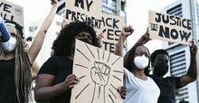 Activist Movement Protesting A...