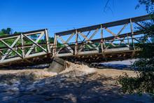 A Collapsed Railway Bridge, Po...