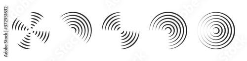Fotografiet Vector geometric shapes