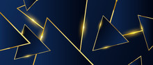 Abstract Triangles Pattern Lux...