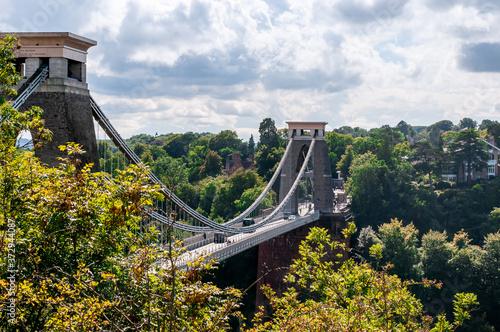 Fotografie, Obraz Clifton suspension bridge