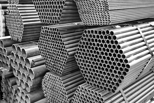 Fototapeta steel profile materials used in industry