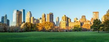 Central Park In Autumn, New Yo...