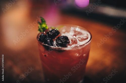 Photo cocktail bebida