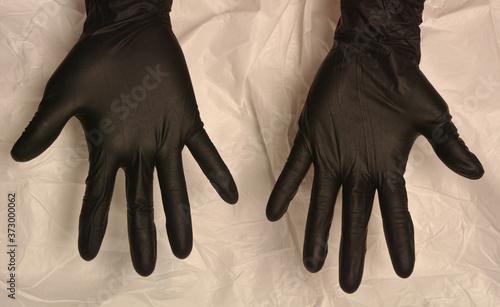 confinamiento, guantes, protección, virus, covid, corazón manos, nitrilio, aisla Wallpaper Mural