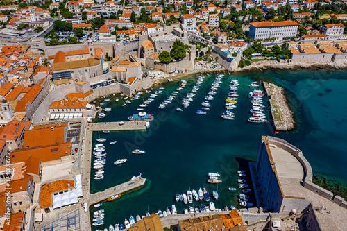 Dubrovnik aus der Luft | Kroatien von oben | Dubrovnik mit der Drohne Fototapete