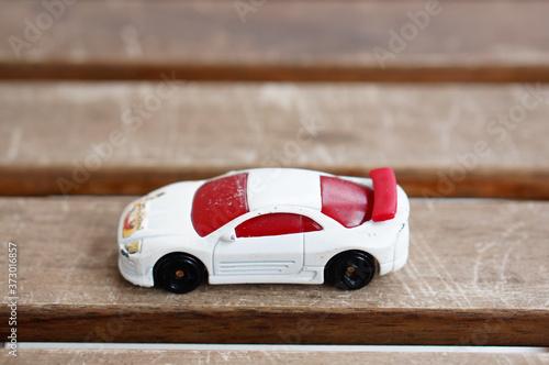 POZNAN, POLAND - Jul 29, 2020: Mattel Hot Wheels toy car Wallpaper Mural