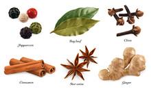 Peppercorn, Bay Leaf, Dried Cl...