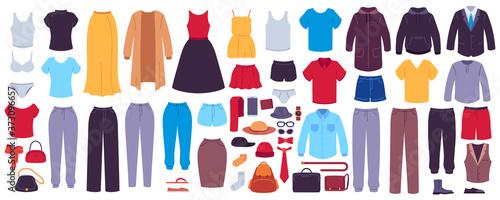 Flat clothes Slika na platnu