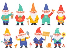 Gnome Characters. Cute Gnomes ...