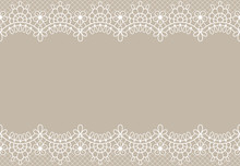 Lace Background. Luxury Floral...
