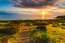 Hallett Cove Wooden Trail At S...