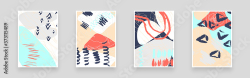 Abstract patterns for Placards, Posters, Flyers and Banner Designs Fototapeta