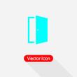 Open The Door Icon Vector Illustration Eps10