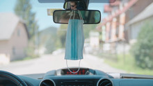 Mask Hang From Rear-view Mirro...