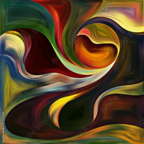 Fotografie, Obraz Space Division in Art