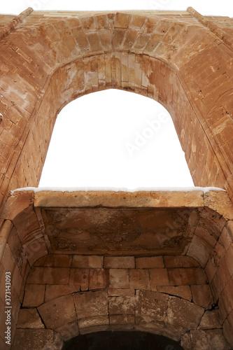 Fototapeta Gates of Ishak Pasha Palace, Eastern Turkey