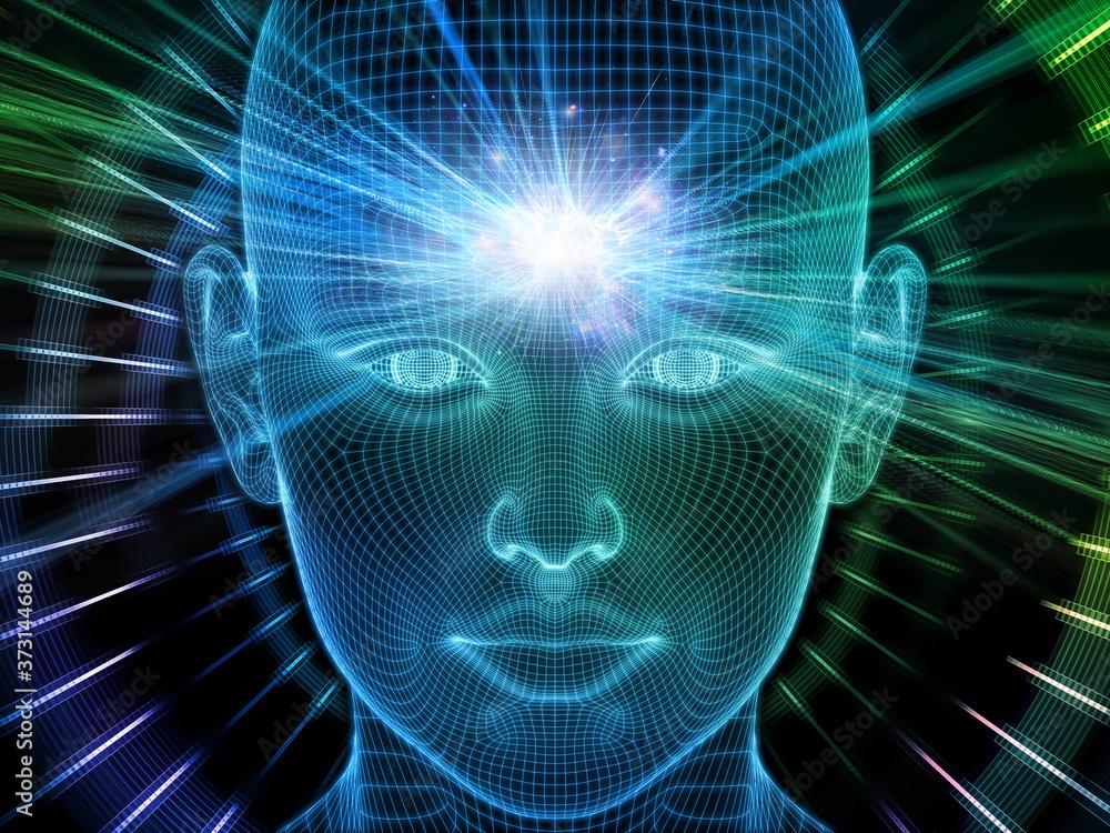 Fototapeta Acceleration of Brain Frequencies
