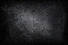 Dark Concrete Background Or Te...