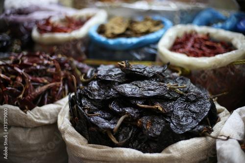 Fotografia chile. seco. mexico. tradicion. mercado