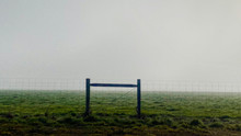 Fence In The Morning Mist