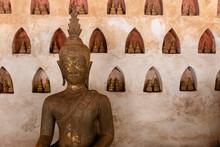 Detail Of Buddha Statue At Wat...