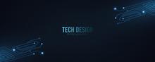High Technology Abstract Backg...