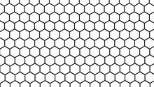 Honeycomb White Background, He...