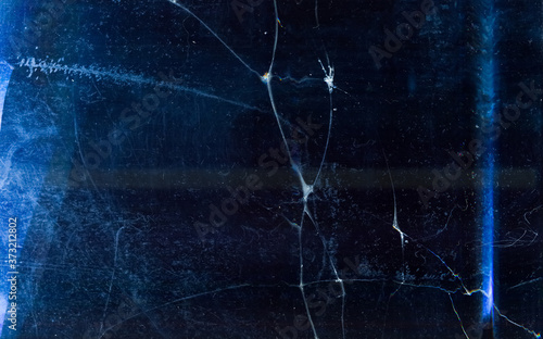Ice abstract background Fototapet