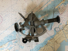 Sextant And Map