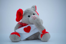 Cute And Cuddly Stuffed Elepha...