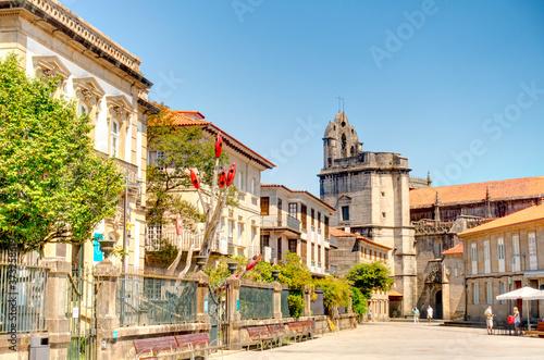 Pontevedra landmarks, Galicia, Spain
