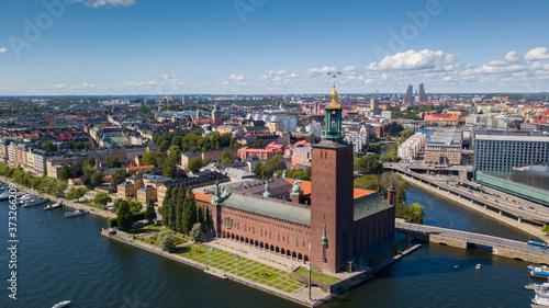 Foto Sweden / Stockholm City / Stockholm Stad / Stockholm stadhuset / Stockholm City