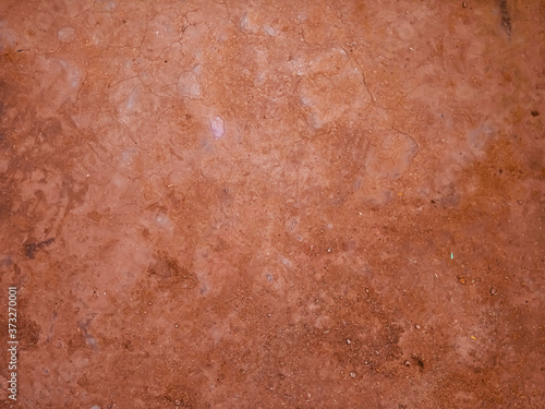 Foto Rural Fine Red Soil Surface Texture