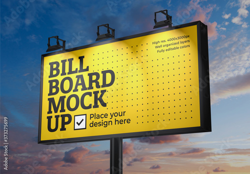 Fototapeta Billboard Mockup