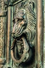 Copper Lion. Antique Wrought ...