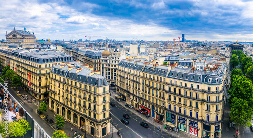 Obraz na plátně Toits de Paris