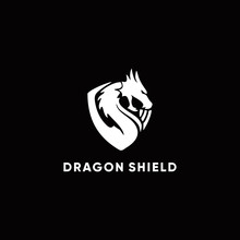 Dragon Logo, Modern Premium Ic...