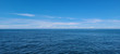 Bluest ocean and sky