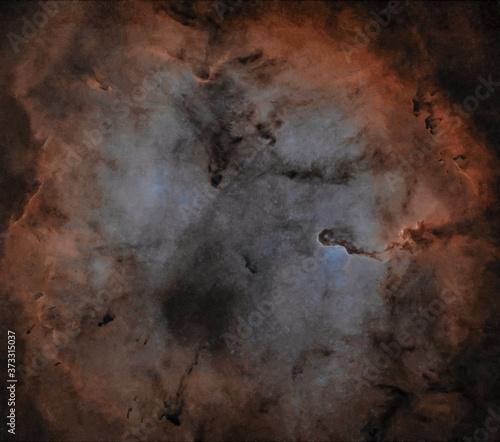 Nebulosa Proboscide d'elefante IC 1396 Star Less Canvas Print