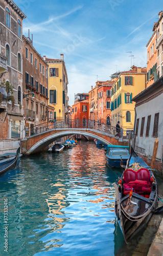 Obraz na plátně Canal in Venice, Italy
