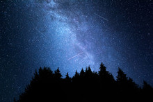 Milky Way Galaxy. This Long Ex...
