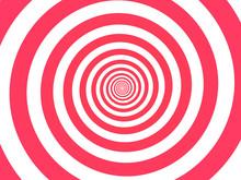 Red Spiral Background. Swirl, ...
