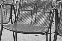 Row Of Chairs Open Air