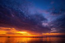 Sunrise In The Sea. Inspiratio...